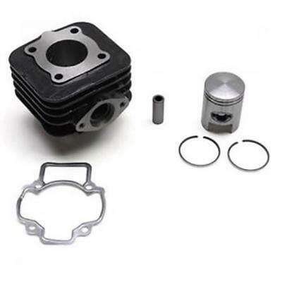 Kit cylindre piston fonte segment axe clip joint scooter Piaggio 50 Liberty Neuf