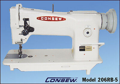 New Consew 206RB-5 Upholstery Sewing Machine