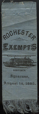 1885 Syracuse, New York * Rochester Exempts * Fireman
