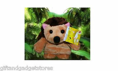 April's Pond Milton the Hedgehog - Plush Toy Hand Puppet from Aprils Pond