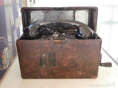 GERMAN MILITARY FIELD Telephone CAMPAIIGN used by WEHRMACHT.1943.WWII.III Reich