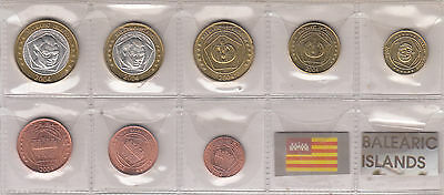 Isole Baleari Balearic Islands 2004 Pattern Prototype 8  Coin Collection Fdc