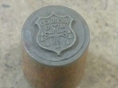 Antique Die Mold Hobs Stamping Embossing Jewelry Medal Dearborn Michigan