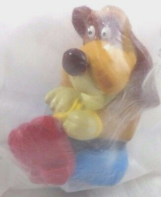 PATOU Rock-A-Doodle Hound PVC Pencil Topper MIB Dairy Queen '92 Don Bluth