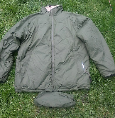 British Army Reversible Thermal Softie Jacket - Grade 1 - With Stuff Sack
