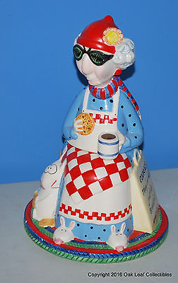 Hallmark Maxine Cookie Jar 14 inches tall used. Take a LOOK!