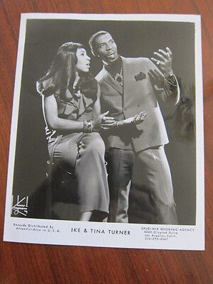 IKE & TINA TURNER  8x10 photo a