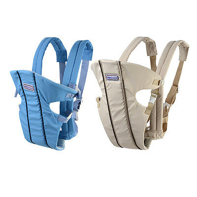 Breathable Infant Carrier Adjustable Baby Sling Breastfeeding Wrap Backpack XP