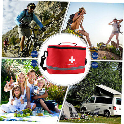 Sports Camping Home Medical Emergency Survival First Aid Kit Bag Outdoors SN
