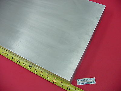 "3 pieces 3/4"" X 8"" ALUMINUM 6061 FLAT BAR 18"" long Solid T6511 Plate Mill Stock"