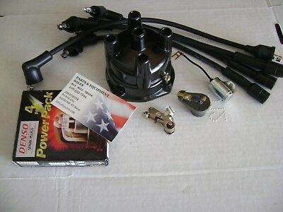 CLARK C500 20 25 S30 530  235  4 CYL DELCO TUNE KIT USA CAP Wires Plugs Forklift