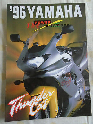 Yamaha Thunder Car brochure 1996
