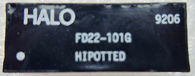 FD22-101G HALO HIPOTTED Transformers Audio & Signal 10BASE-T FILTER DIP 100Ohm