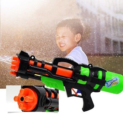 Child Beach Pool Water Gun Kid Super Soaker Long-Range Pistol Holiday Squirt Toy