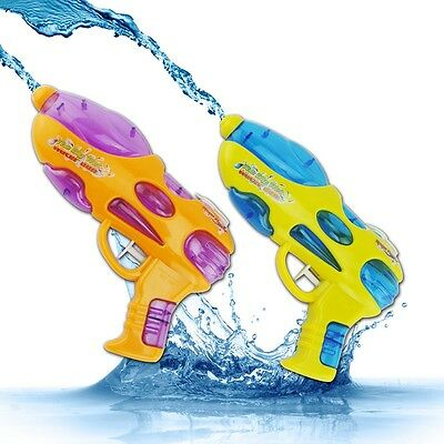 Child Pool Water Gun Kids Blaster Pistol Super Soaker Holiday Squirt Toys Random