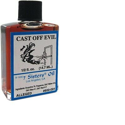 Cast off Evil Oil by 7 Sisters of New Orleans - 14.7ML