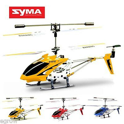 Syma S107 S107G 3CH OUTDOOR Park RC Helicopter Remote Control With Built-in Gyro