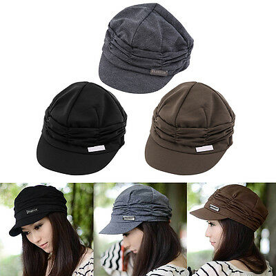 Fashion Unisex Women Men Casual Baseball Outdoor Sun Peaked Hat Cap Gift RX