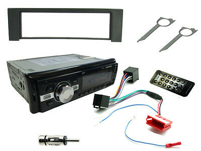 AUDI A4 00-06. Car Stereo Head Unit Kit. FM Radio Bluetooth, USB MP3, Fascia ISO