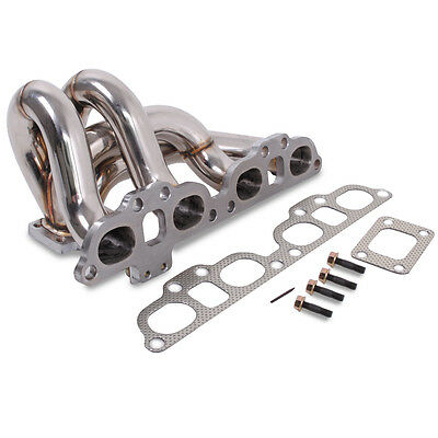 STAINLESS STEEL EXHAUST MANIFOLD FOR NISSAN 200SX S14 S14a 93-99 TURBO SR20DET