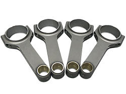 VOLVO B230 4340 Steel H-Beam Connecting Rods 145mm Rod Length