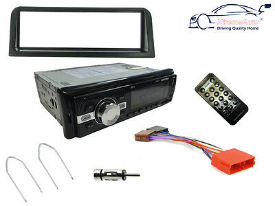 PEUGEOT 106 91-03. Car Stereo Head Unit Radio, Bluetooth USB MP3 SD, Fascia Kit