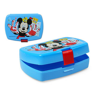 Boite A Gouter Mickey Mouse - Lunch Box 16 X 11 Cm