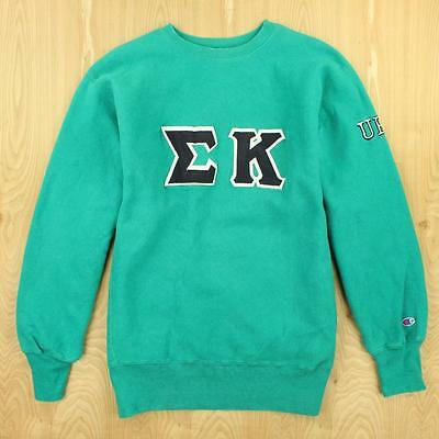 vtg usa made CHAMPION reverse weave sweatshirt XL Sigma Kappa sorority uri 90's