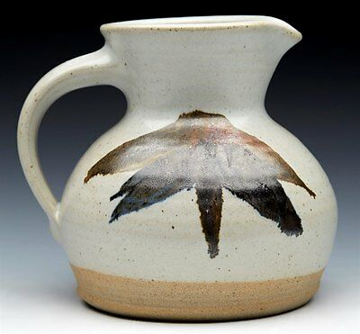 Superb Vintage Studio Aller Pottery Jug By Bryan Newman 20Th C.