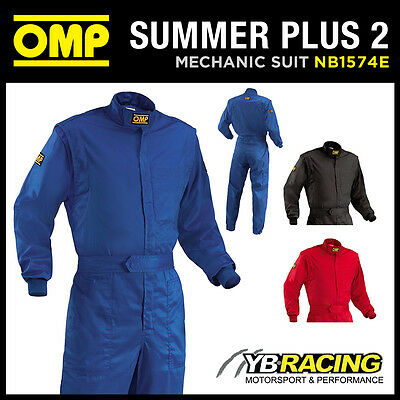 Sale! Nb/1574E Omp Summer Plus 2 Overalls Mechanic Suit Pit Crew Karting Leisure