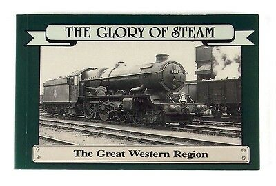 THE GLORY OF STEAM THE GREAT WESTERN REGION Postcard Book - Nr MINT