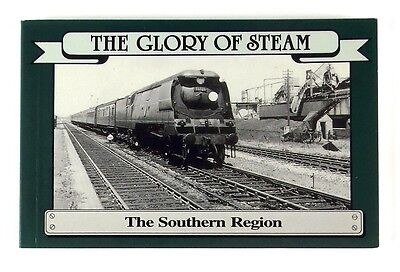 THE GLORY OF STEAM THE SOUTHERN REGION Postcard Book - Nr MINT