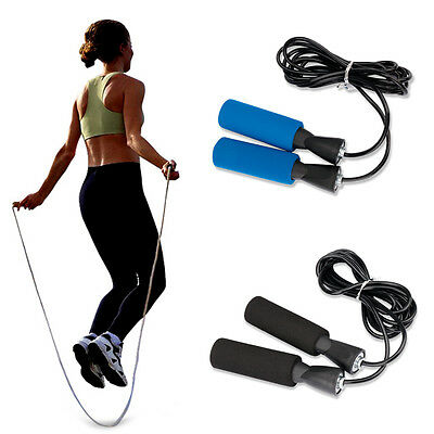 Aerobic Exercise Boxing Skipping Jump Rope Adjustable Bearing Speed Fitness Gym