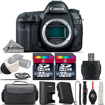 Canon EOS 5D Mark IV DSLR 30.4MP Full-Frame CMOS Sensor Camera - 64GB Kit Bundle