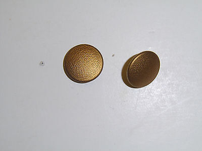 b8885 WW2 German Button for Shoulder Strap General, Political gold/silver pair