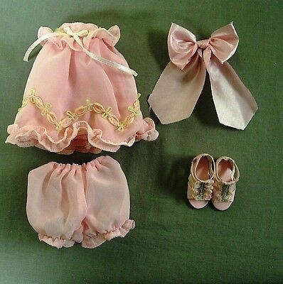 "Tonner Effanbee Patsy Dainty Dress Up Outfit For 10"" Ann Estelle & Half Pint New"