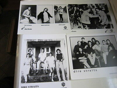 DIRE STRAITS  4 8x10 photos