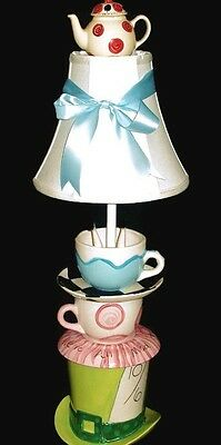 Alice In Wonderland Mad Hatter Tea Party Lamp