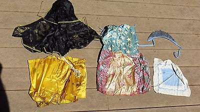 1950s Ben Cooper Witch Lady Liberty Masquerade Party Halloween Costume Parts++