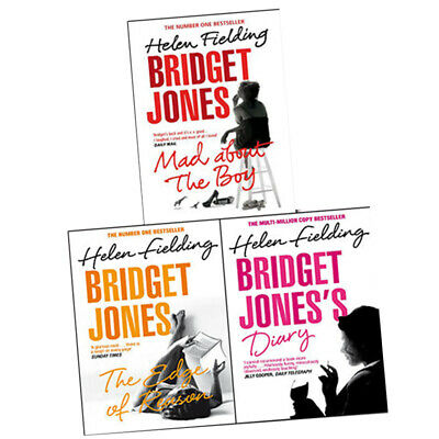 Bridget Jones Series Collection 3 Books Set By Helen Fielding NEW Mad About the