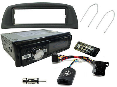 FIAT PUNTO 99-05: Car Stereo Head Unit Radio + Steering Controls + Bluetooth AUX
