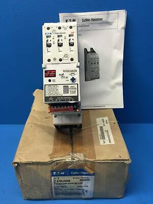 New Eaton Cutler Hammer S752L04N3S EM1374 IT 54MM SOFT STARTER 4.4A 600V 3HP NIB