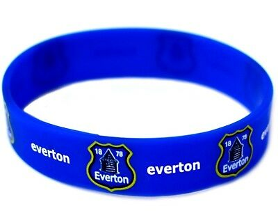 Everton Football Club Silicone Wristband Official FC Wrist Band The Toffees New