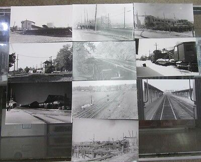 "10 Pennsylvania-Reading Seashore Lines Black and White  Photographs (5"" x 8"")"