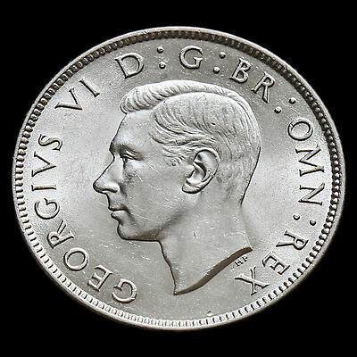 1945 George VI Silver Two Shilling Coin / Florin – AU #2