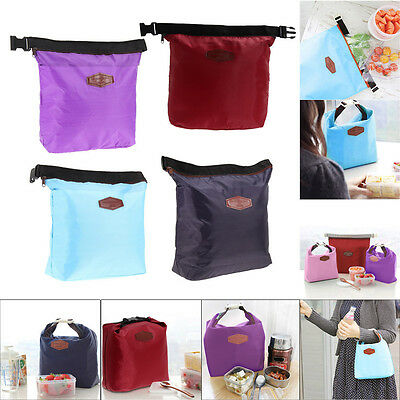 Waterproof Insulated Thermal Cooler Lunch Box Carry Tote Storage Bag Case Picnic