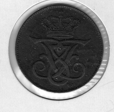 1907 Denmark 5 ore. Very nice looking coin. Includes Free shipping in US.