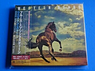 2019 Japan Bruce Springsteen Western Stars Digi Sleeve Cd