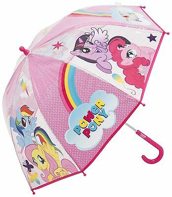 Kids My Little Pony Girls Plastic Umbrella for Outdoor & Travel