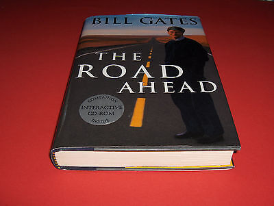 Buch+Cd-Rom Bill Gates The Road Ahead New Computer Information Technology Effect